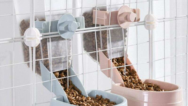 2L Pet Cat Automatic Feeders Large Capacity