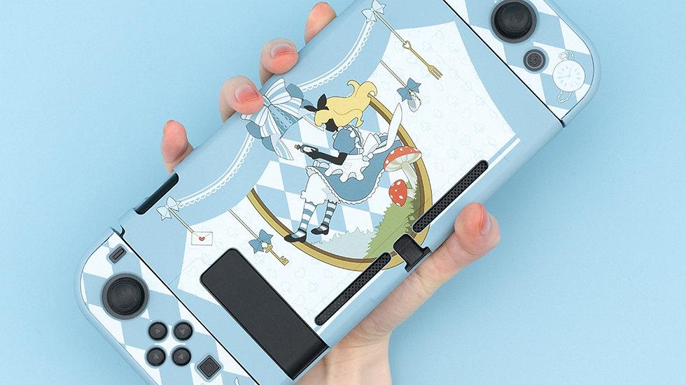 GEEKSHARE Nintendo Switch Case Alice in Wonderland