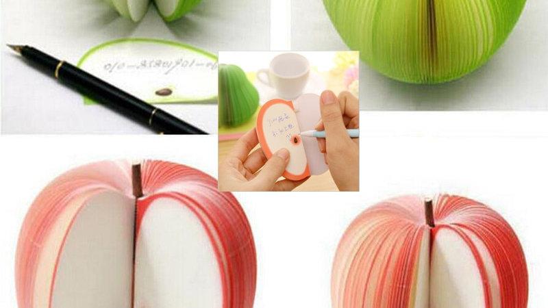 Kawaii Stationery Sticky Cute Fruit Memo