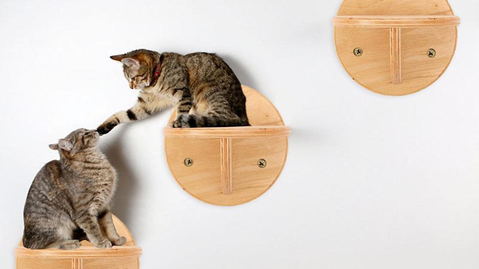 Cat Tree Cat Climbing Frame Scratch Board Wood