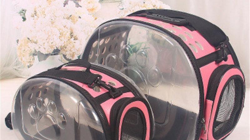 Cat Carrier Bag Travel Pet Portable Breathable Transparent Backpack