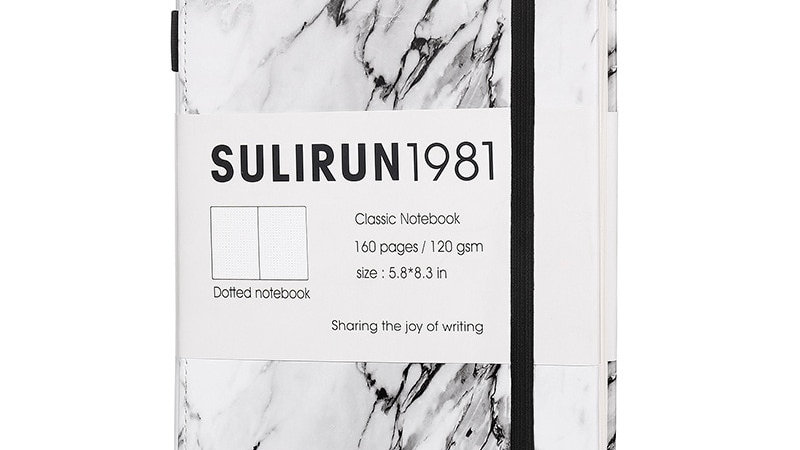 Creative Marble Design Bullet Journal Notebook 2021 Thicken 120gsm 80 sheets