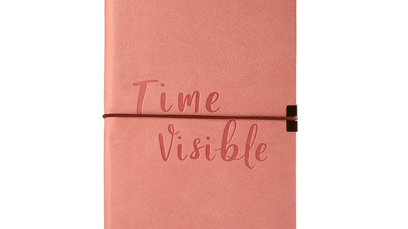 A5 Dotted Journal Elastic Band Soft Cover Bullet Notebook Travel Planner Diary