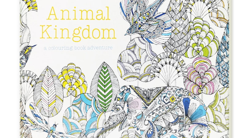 24 Pages Animal Kingdom Colouring Book