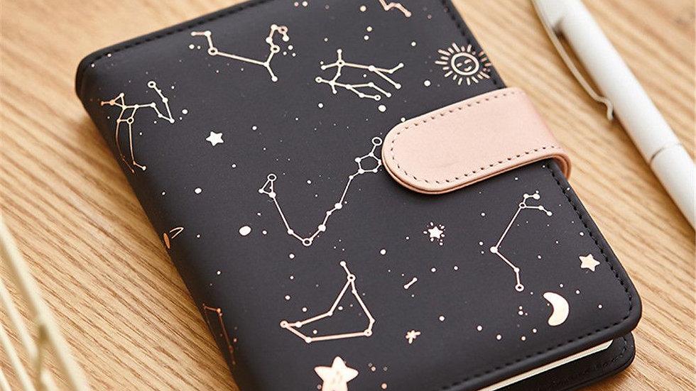 Constellations Notebook Weekly Monthly Planner Agenda Organiser Diary Journal