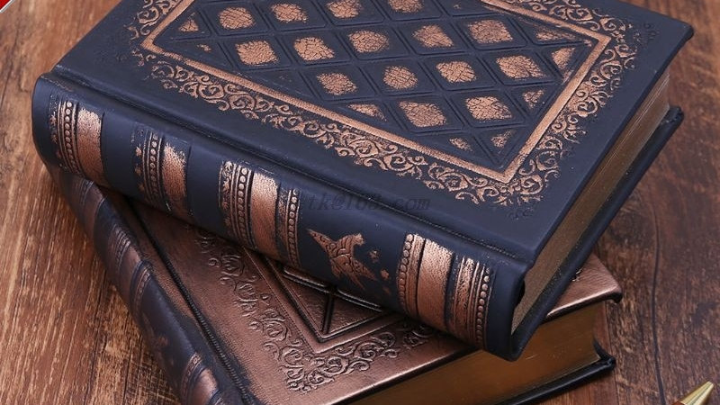 Leather Retro Vintage Diary Journal Notebook Blank Hard Cover Sketchbook