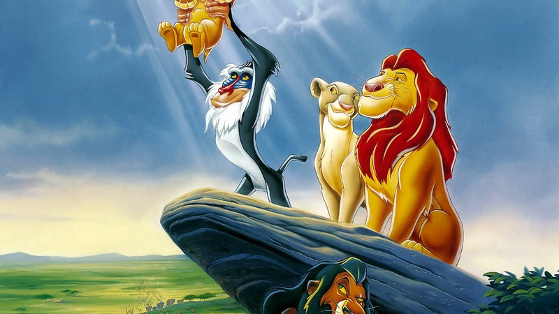 5D Diamond Painting the Lion King Embroidery Cartoon