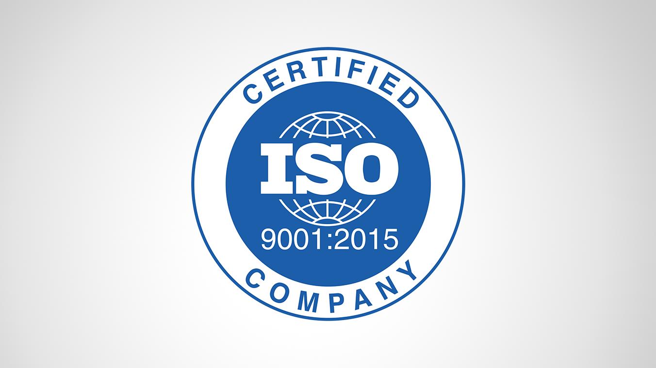 ISO 9001 2015 Company logo