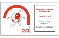 DFL Crest ISO 9001