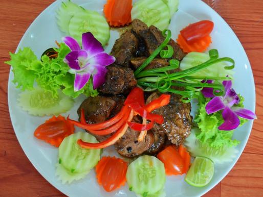 Marinated braised pork, or Mu ob