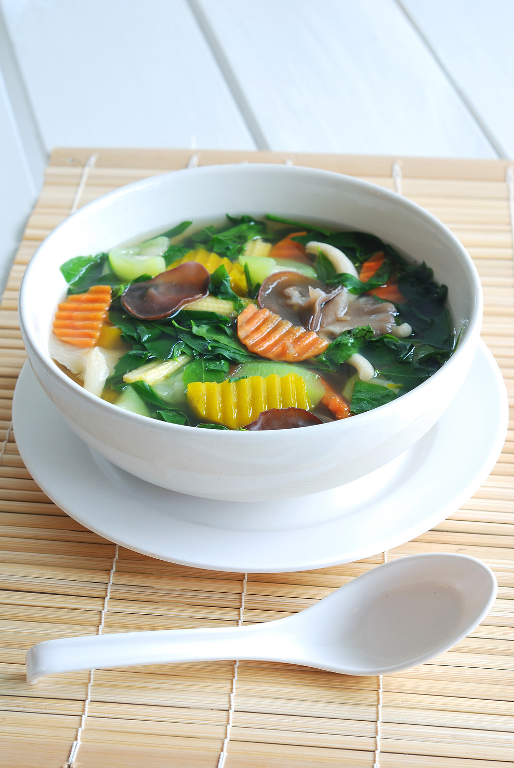 Spicy And Sour Vegetable Soup Recipe