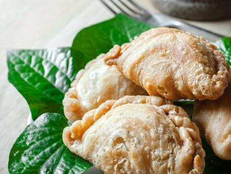 Süßkartoffel-Curry-Taschen