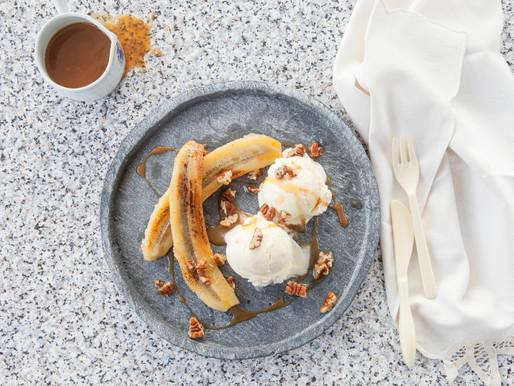 Banana-coconut ice cream