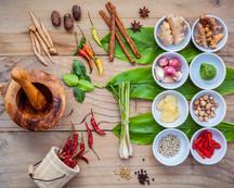 Various Of Thai Food Cooking Ingredients For Spice Red Curry Paste Ingredient Of Thai Popular Food O.jpg