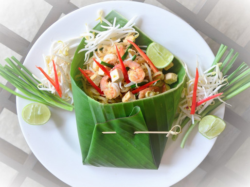 Fried rice noodles or Pad Thai