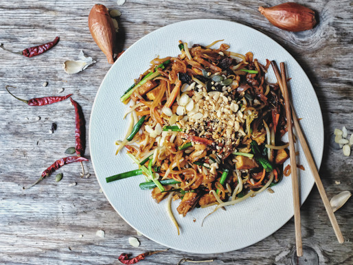 ผัดไทยผัก