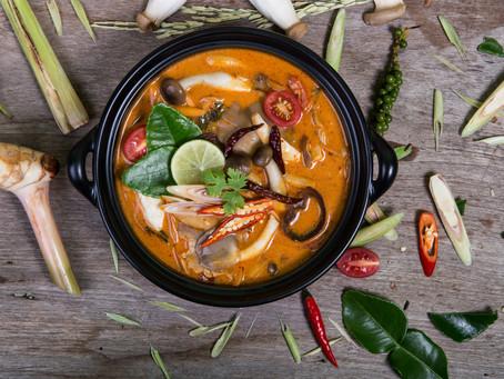 Scharf-saure Pilzsuppe, Tom Yam Het