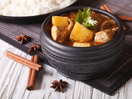 Massaman Hühner-Curry