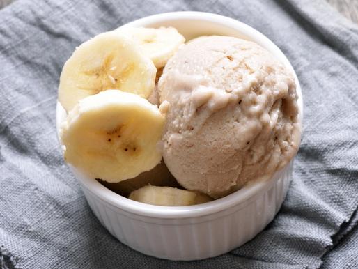 Crème glacée coco et banane