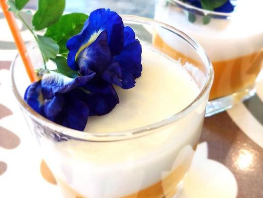 Gelée de mangue et coco