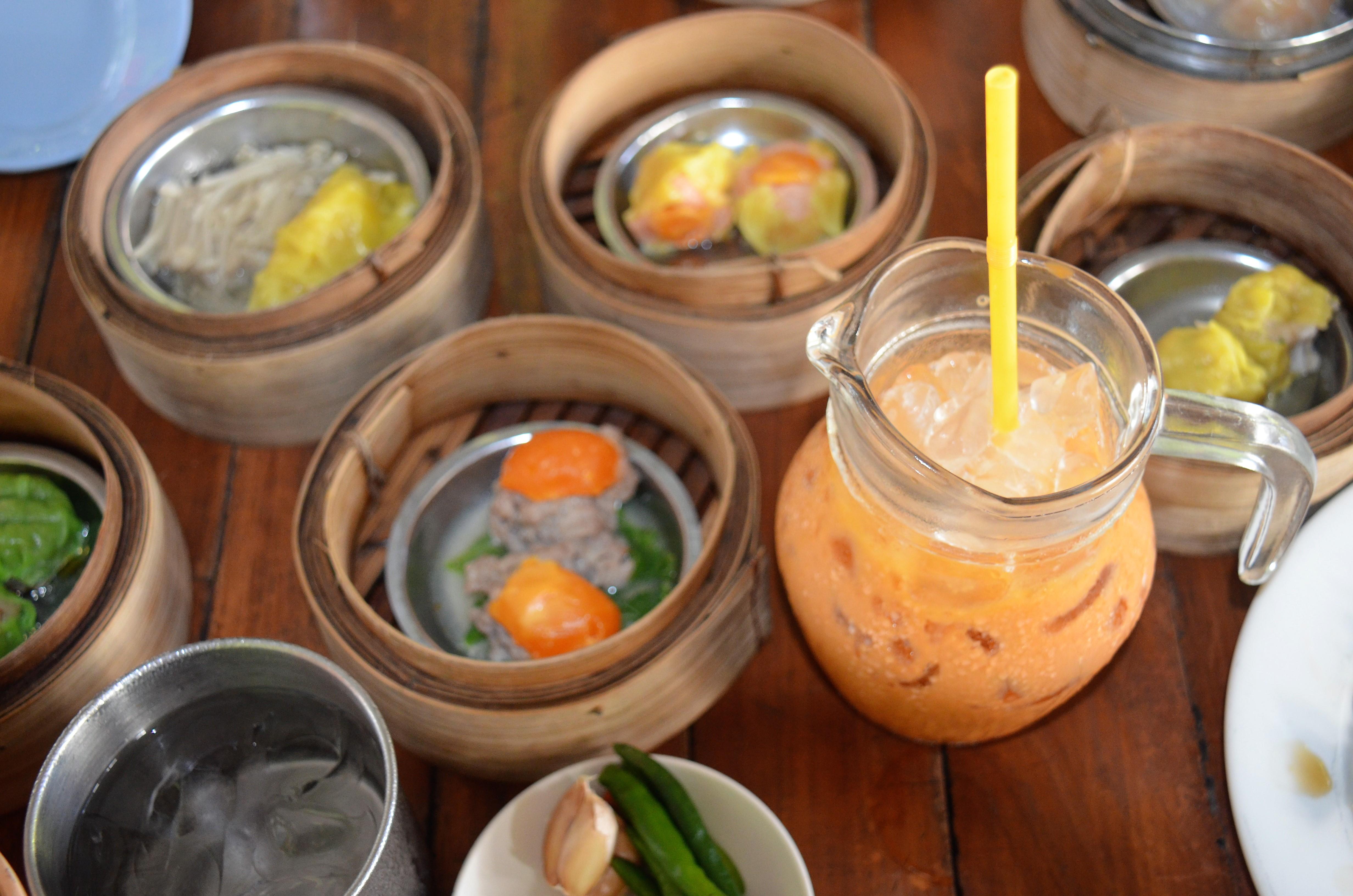 dim sum and chai