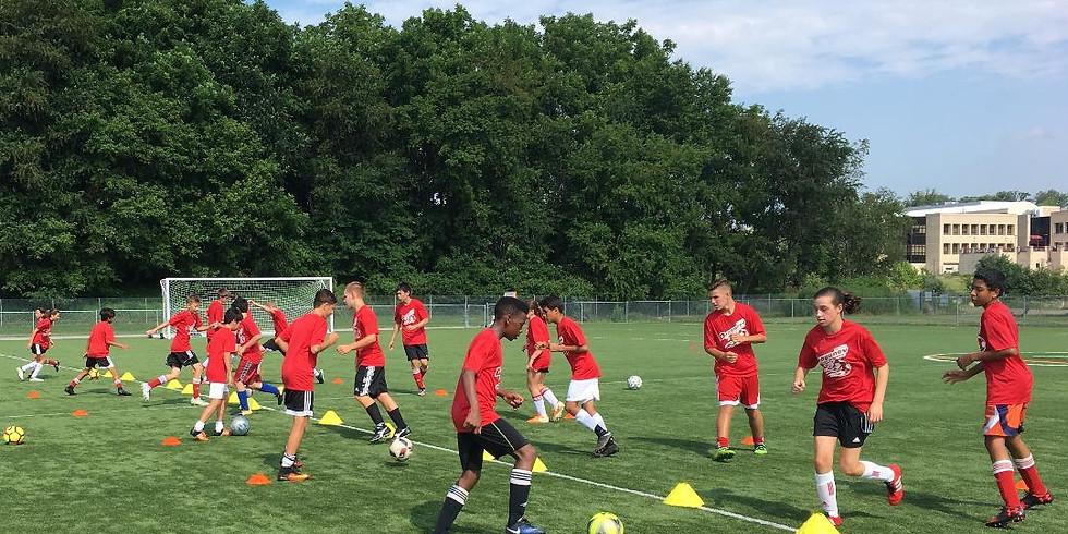 Week 2 Draganov School of Soccer Camp (Full Day)