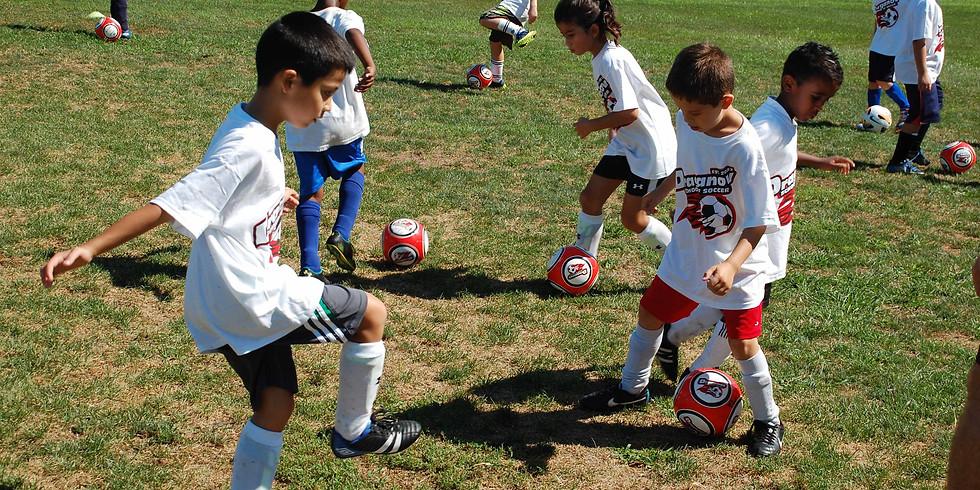 Week 2 Draganov School of Soccer Camp (Half Day)