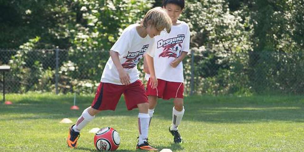 Week 1 Draganov School of Soccer Camp (Full Day)