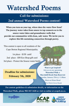 Submissions now open: Watershed Poems