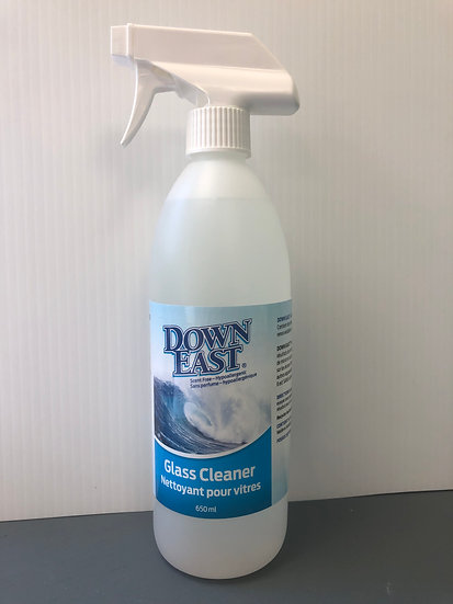 Down East Glass Cleaner 650ml