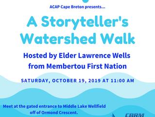 A Storyteller's Watershed Walk