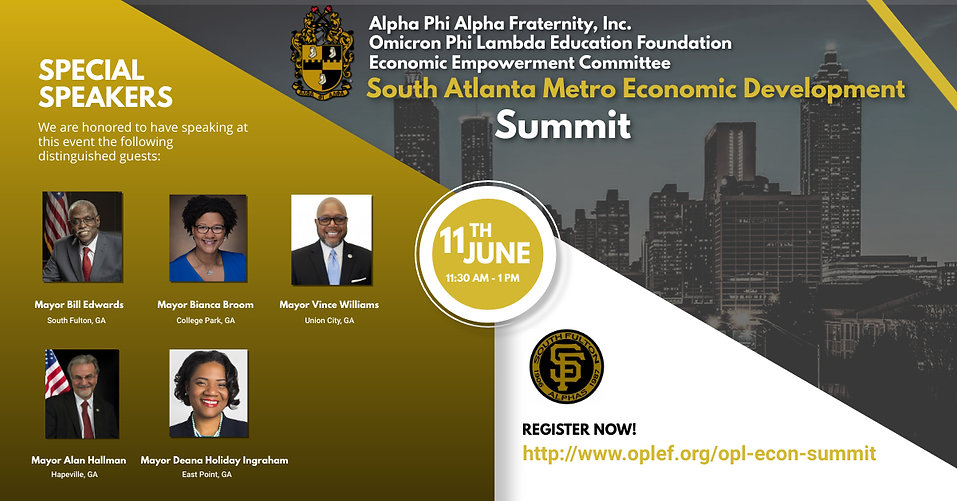 OPL-Economic Development Summit Flyer v3