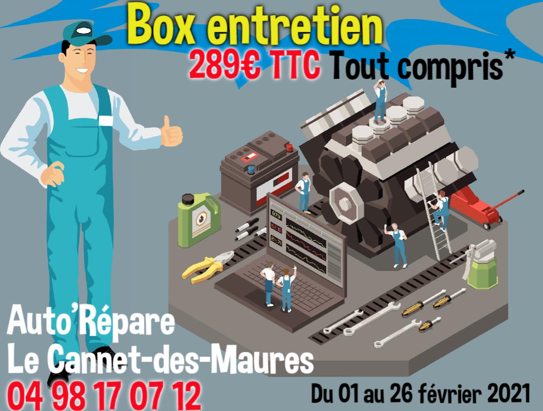 Box Entretien Tout Compris