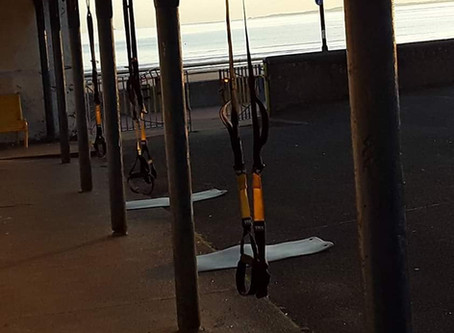 Launching TRX Outdoor Fitness Classes in Portobello, Edinburgh