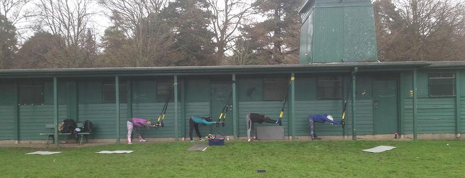 Outdoor TRX Class Edinburgh