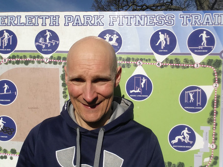 Is Inverleith Park, the best place for Outdoor Fitness Training in Edinburgh?
