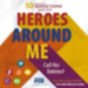 Heroes Around Me Social Media Call for E
