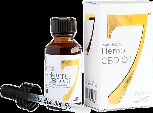 CBD7 Hemp 1500mg Tincture (30 Day Supply)