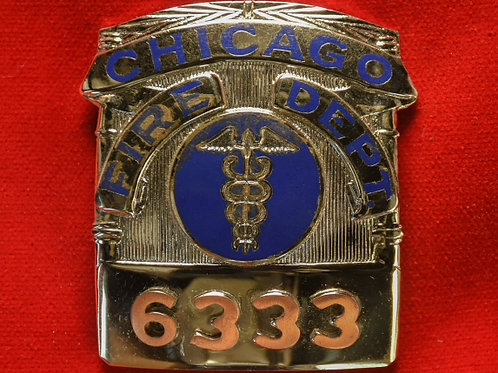 Lucite Box Paramedic Badge & Replacement Badge