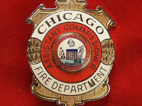 Lucite Box Assistant Commissioner Badge & Replacement Badge