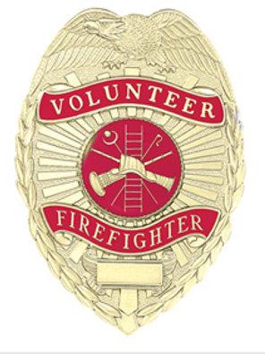 Volunteer Badge with Eagle