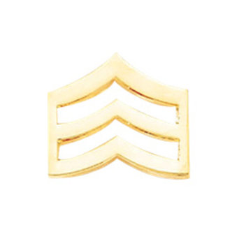 Small Sergeant Chevrons-Smooth
