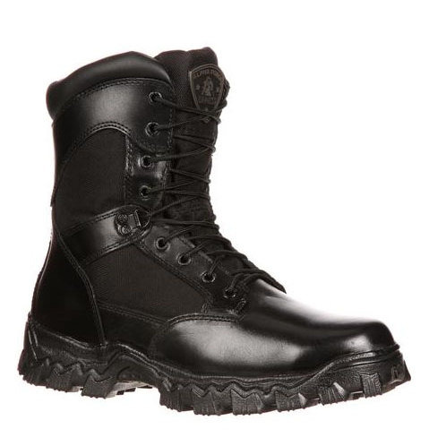 Rocky AlphaForce Zipper Waterproof Duty Boot