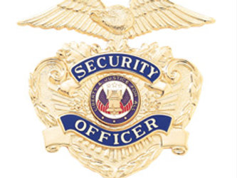Security Officer Cap Badge