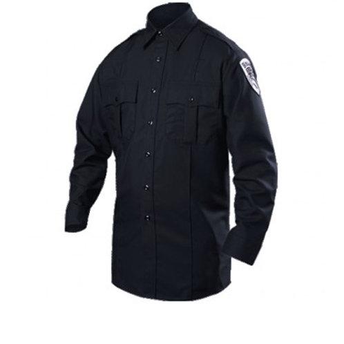 Blauer Long Sleeve Cotton Blend Shirt
