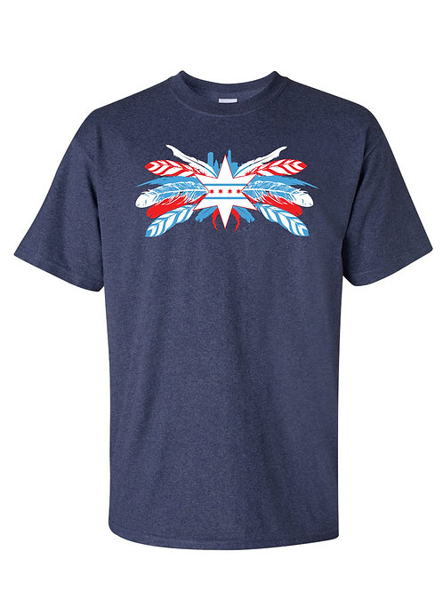 Chicago Feathers Shirt