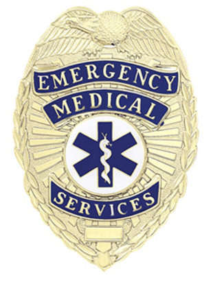 Emergency Medial Services Shield with Eagle