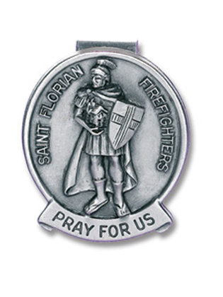 Saint Florian Visor Clip