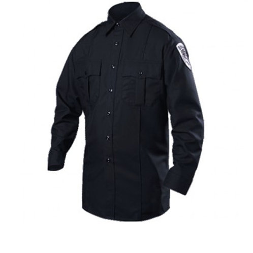 Blauer Long Sleeve Cotton Blend Shirt