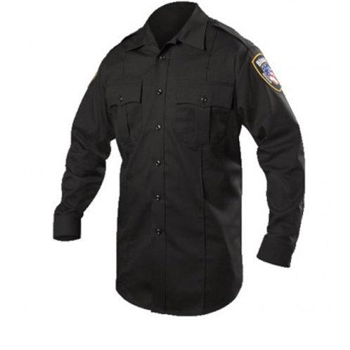 Blauer Long Sleeve Cotton Blend Shirt 8703
